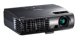 Optoma W304M WXGA 3100 Lumen Full 3D Portable DLP Projector with HDMI