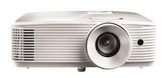 Optoma EH334 1080P 3300 Lumens 3D DLP Office Projector, White